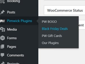 Link to the Black Friday Deals Plugin in WordPress