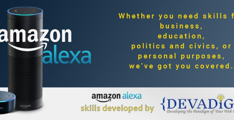 Devadigm, a Cape Cod based Web Developer and Digital Project Manager, develops Amazon Alexa Skills