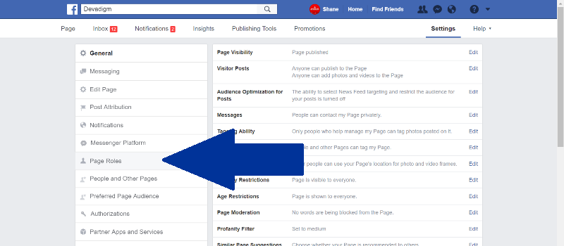 This tutorial by Devadigm, a Cape Cod Web Developer and Project Management Company, explains how to assign Facebook page roles