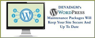 Devadigm, a Cape Cod based digital project management company, offers WordPress Maintenance Packages