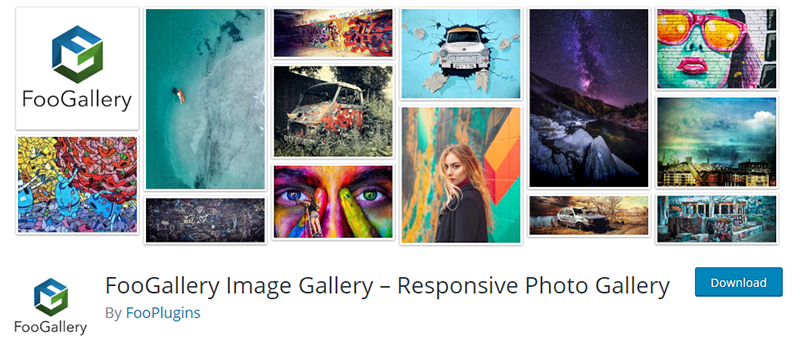 Header image from the Foo gallery WordPress plugin website.