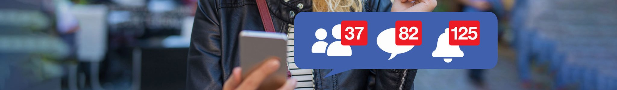 Facebook notifications and number of likes